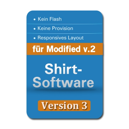 Shirt-Software v.3 für Modified (xt:Commerce3)