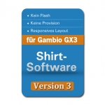 Shirt-Software v.3 für Gambio GX3 & GX2
